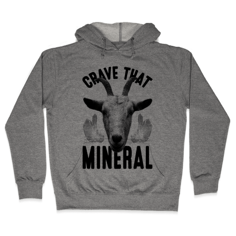Crave That Mineral Hooded Sweatshirt