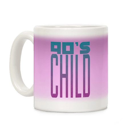 90's Child Coffee Mug