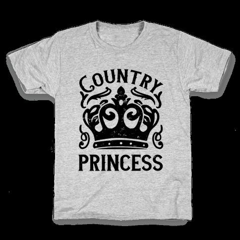 Country Princess Kids T-Shirt