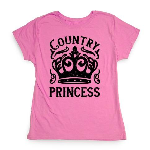 Country Princess Womens T-Shirt