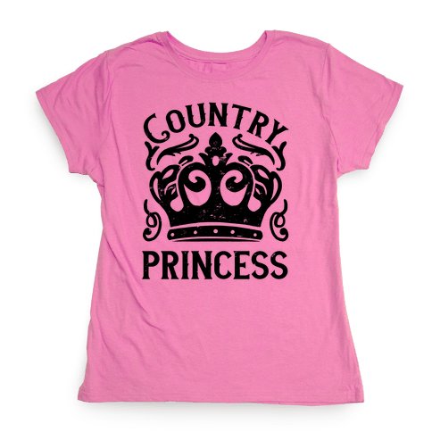 Country Princess Womens T-Shirt