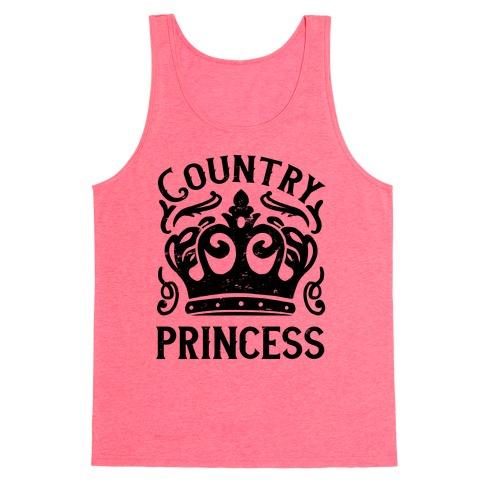 Country Princess Tank Top