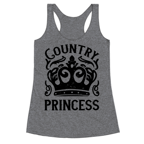 Country Princess Racerback Tank Top