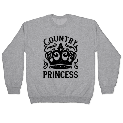 Country Princess Pullover
