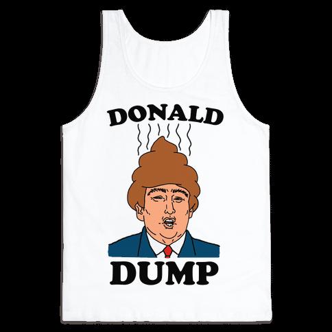 Donald Dump 2016 Tank Top