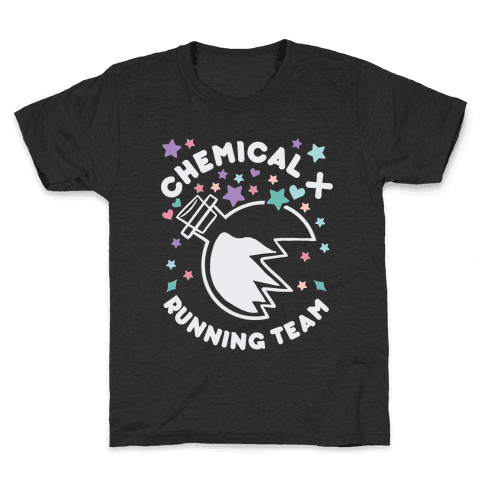 Chemical X Running Team Kids T-Shirt