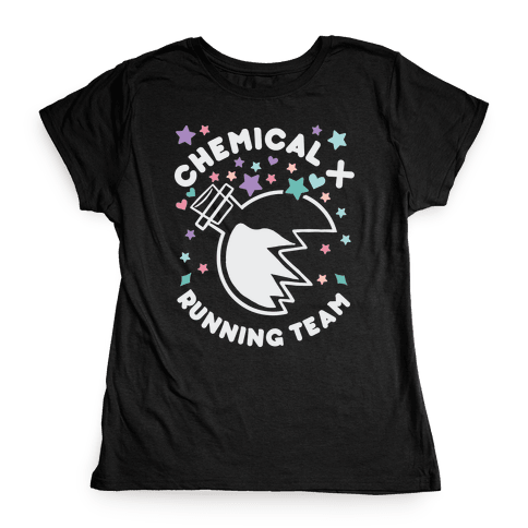 Chemical X Running Team Womens T-Shirt