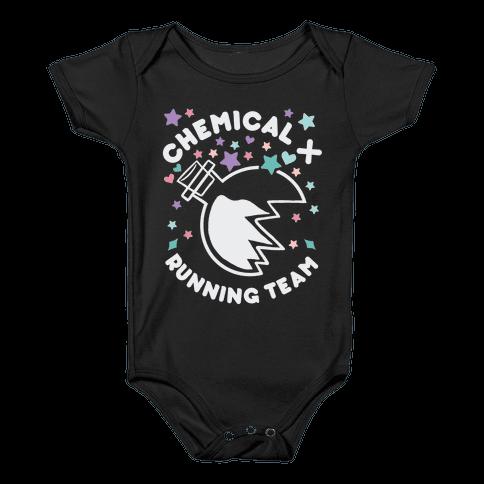 Chemical X Running Team Baby Onesy