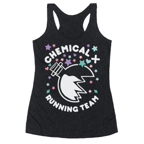 Chemical X Running Team Racerback Tank Top