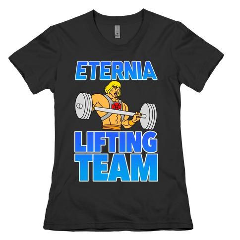 Eternia Lifting Team Womens T-Shirt