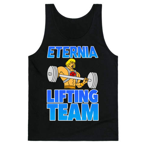 Eternia Lifting Team Tank Top
