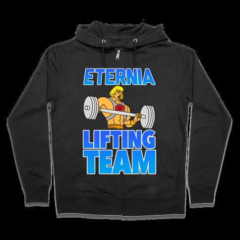 Eternia Lifting Team Zip Hoodie