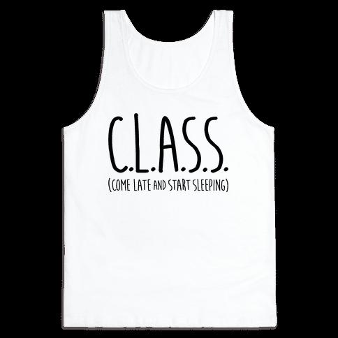 C.L.A.S.S. Tank Top