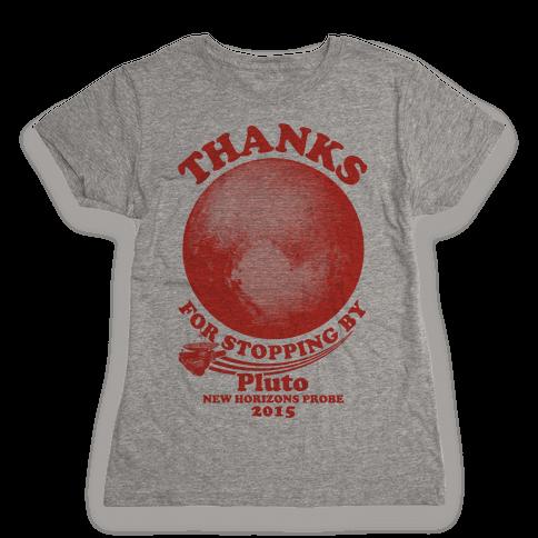 Pluto New Horizons Probe Womens T-Shirt