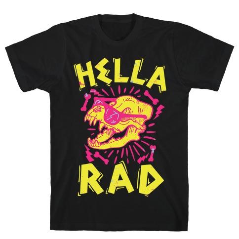 Hella Rad Skull T-Shirt