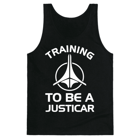 Training To Be A Justicar Tank Top