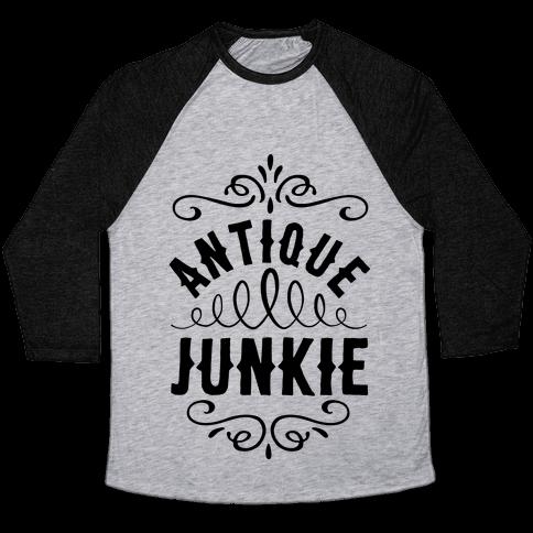 Antique Junkie Baseball Tee