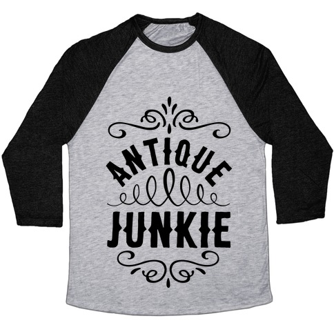 Antique Junkie Baseball Tee