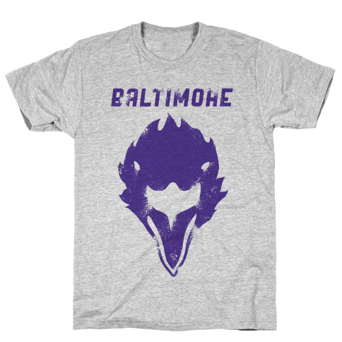 Vintage Baltimore Football Mens T-Shirt