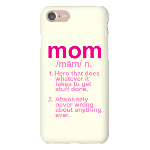 Mom Definition Phone Case