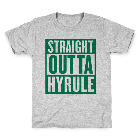 Straight Outta Hyrule Kids T-Shirt