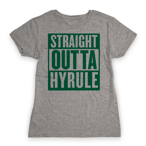 Straight Outta Hyrule Womens T-Shirt