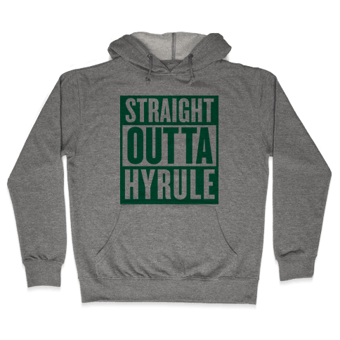 Straight Outta Hyrule Hooded Sweatshirt