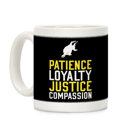 Hufflepuff Qualities Coffee Mug
