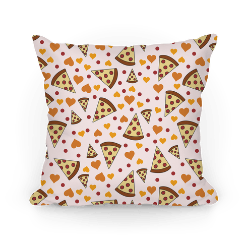 Pizza Love Pillow Pillow