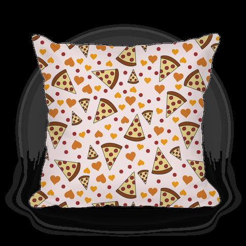 Pizza Love Pillow Pillow