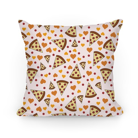 Pizza Love Pillow
