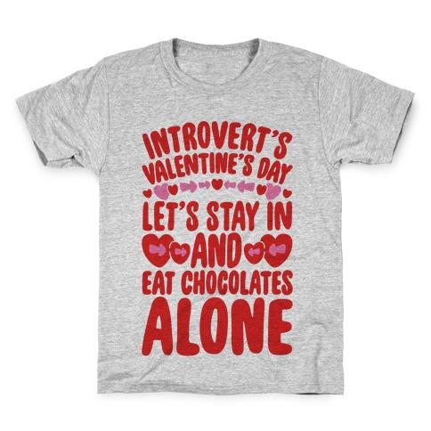 Introverted Valentine Kids T-Shirt