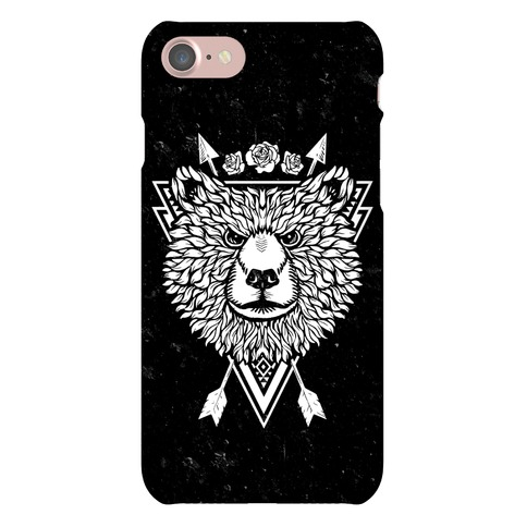 Indie Warrior Bear Phone Case