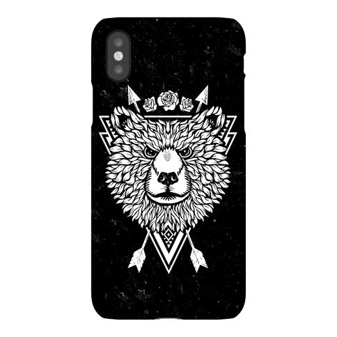 Indie Warrior Bear Phone Case