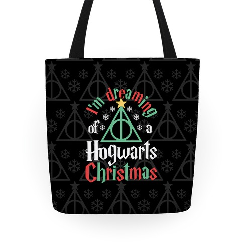 I'm Dreaming Of A Hogwarts Christmas Tote