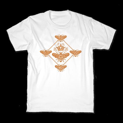 Regal Golden Honeybee Kids T-Shirt