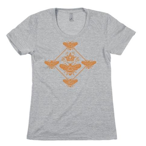 Regal Golden Honeybee Womens T-Shirt
