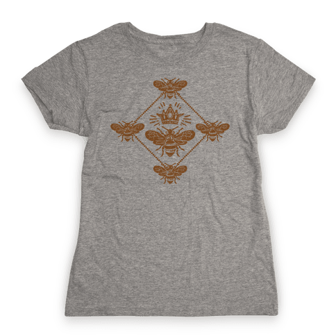 Regal Golden Honeybee Womens T-Shirt