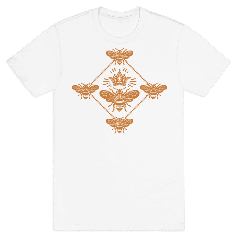 Regal Golden Honeybee Mens T-Shirt
