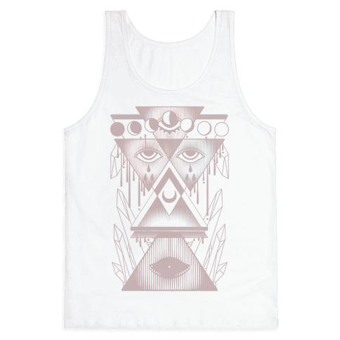 Witch Collage Tank Top