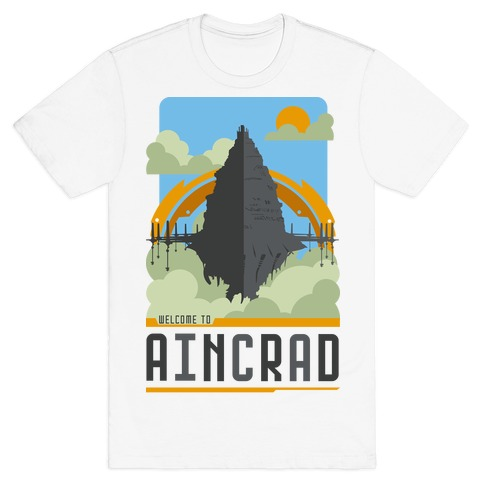 Welcome To Aincrad T-Shirt