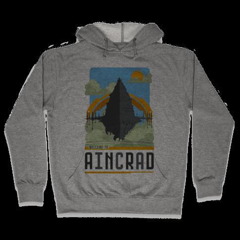 Welcome To Aincrad Hooded Sweatshirt