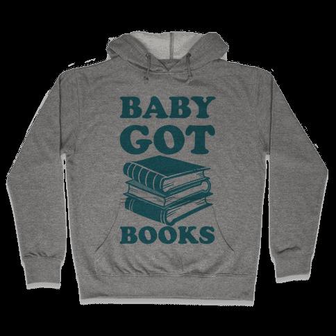 Baby Got Books Hooded Sweatshirt