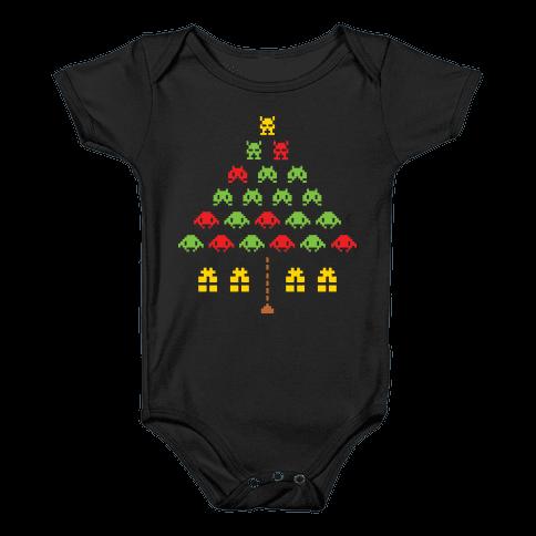Holiday Intruders Baby Onesy