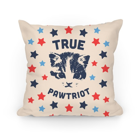 True Pawtriot Pillow