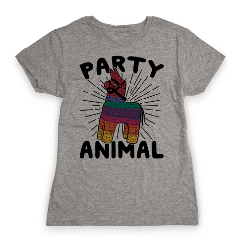 Party Animal Womens T-Shirt