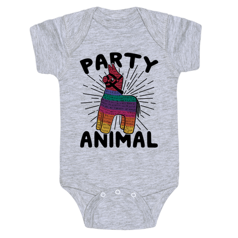 Party Animal Baby Onesy