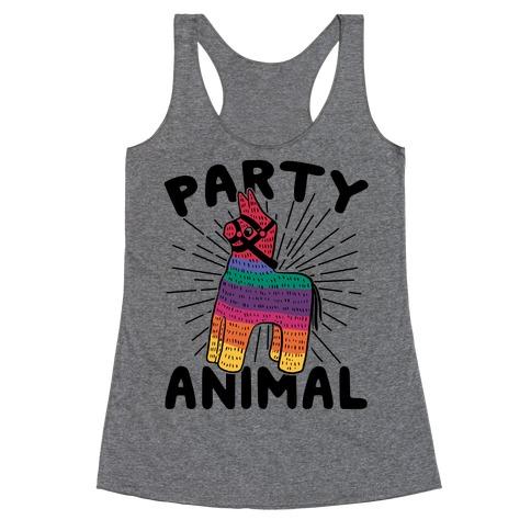 Party Animal Racerback Tank Top