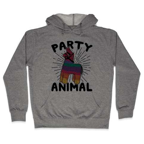 Party Animal Hooded Sweatshirt