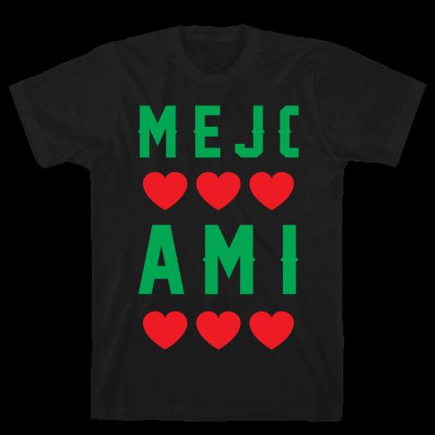 Mejores Amigas 1 Mens T-Shirt